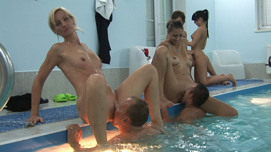 Swimming pool sex party 2